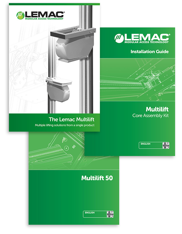 Lemac Multilift Brochures and Instruction Manuals